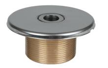 Vtoková tryska pr. 18mm - závit 11/2 ex., délka 40mm
