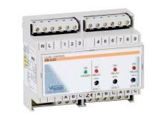 Elektronické hlídání hladiny v akumulační jímce + 7 x sonda na DIN lištu