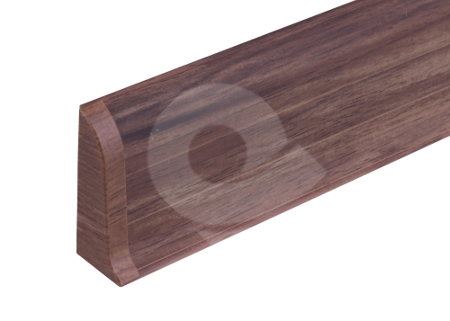 Cezar PREMIUM koncovka levá, PVC, 59mm, ořech corley, dekor 202
