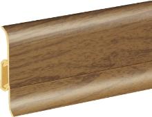 Podlahová lišta soklová Cezar Duo 77