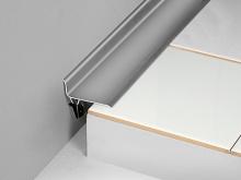 Rohová dilatační lišta pro dodatečnou montáž Profilpas Procover GWA/70 eloxovaný hliník 70mm 3m