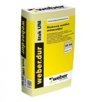 Suchá omítková směs Weber dur štuk UNI 25kg