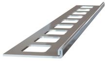 Ukončovací L lišta nerez kartáčovaná 6mm 2,5m