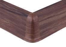 Cezar PREMIUM vnější roh, PVC, 59mm, ořech corley, dekor 202