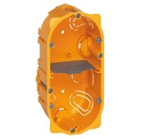 Elektroinstalační krabice Legrand Batibox vestavná, 2x2 moduly, hloubka 50mm
