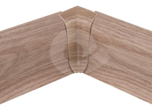 Cezar PREMIUM vnitřní roh, PVC, 59mm, dub liverpool, dekor 171