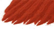 Křemičitý písek barevný červený 0,4-0,8mm 25kg