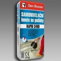Samonivalační hmota na podlahy RAPID S400 25kg