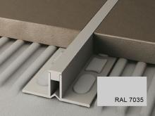 Dilatační lišta pro nízké tloušťky Profilpas Projoint NJ pvc šedá RAL 7035 15mm 2,7m