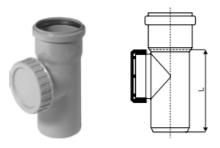 Montáž čistící tvarovky s kruhovým uzávěrem