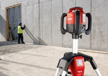 Venkovní rotační samonivelační laser s 360°, půjčovna nářadí