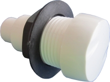 Vzduchový regulátor bílý se zpětným ventilem