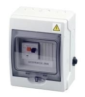 El. ovládání, spínání protiproudu 9-14A, IP 65, tlakový spínač, 1,2-2,6kW