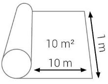 Podložka pod podlahy Cezar Miralon 2mm 10m2