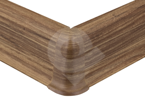 Cezar PREMIUM vnější roh, PVC, 59mm, ořech alpský, dekor 170