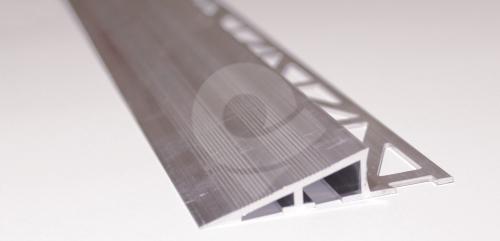 Nájezdový zátěžový profil pod dlažbu Cezar hliník přírodní 44x11,5mm 2,5m