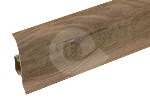 Podlahová lišta soklová Cezar Premium dekor 227