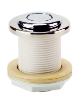 Pneumatické tlačítko nerez v průchodu stěnou ABS pro předvyrobené bazény