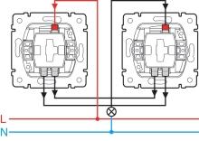 Montáž a zapojení přepínače ( 6 ) 10A/250V, cena práce za montáž 1 kusu bez materiálu
