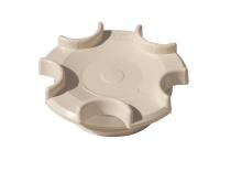 Uzávěr pro základní prvky R 11/2 ABS, o-kroužek