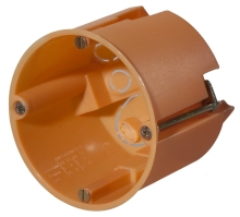 FTR krabice do sádrokartonu 60x61mm oranžová