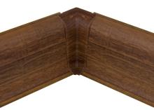 Cezar PREMIUM vnitřní roh, PVC, 59mm, dub pálený, dekor 179