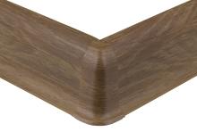 Cezar PREMIUM vnější roh, PVC, 59mm, ořech přírodní, dekor 227