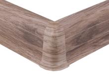 Cezar PREMIUM vnější roh, PVC, 59mm, dub timmerlah, dekor 199