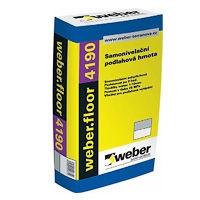 Samonivelační sádrová stěrka pro tloušťky 2,5-30mm Weber.floor 4190 25kg
