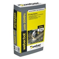 Jednosložková cementová podlahová hmota Weber.bat potěr 20 MPa 25kg