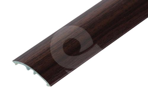 Přechodová lišta Cezar narážecí 30mm 2,7m teak