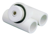 Hydromasážní mikrotryska ABS bílá pr. otvoru 12mm