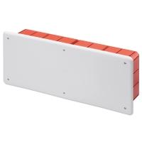 Rozbočovací a propojovací krabice pod omítku s víkem 392x152x70mm