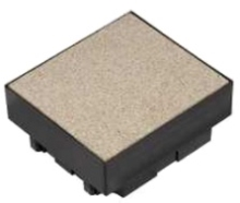 Elektroinstalační krabice do betonu Unica, 4 moduly 45x45mm