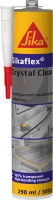 Pružný tmel pro lepení, tmelení a spárování Sikaflex Crystal Clear 290ml transparentní