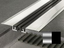 Objektová dilatace Profilpas Procover GJF/50 černá vložka hliník přírodní 50x13x128mm 4m