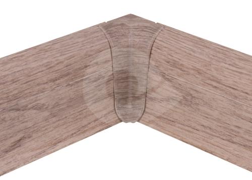 Cezar PREMIUM vnitřní roh, PVC, 59mm, dub alpský, dekor 189