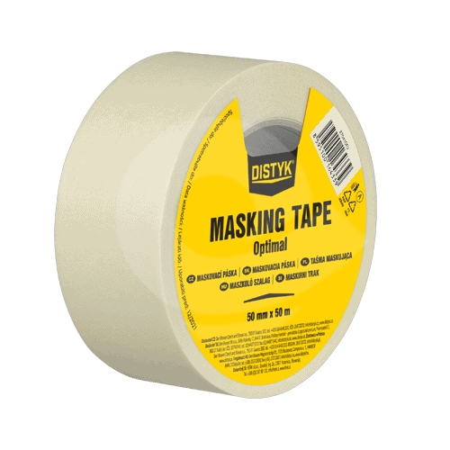 Den Braven maskovací krepová páska Optimal 19mm x 50m