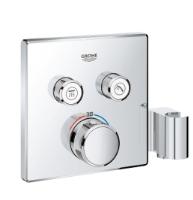 Termostatická vanová baterie pod omítku se 2 ventily s držákem na sprchu Grohtherm SmartControl