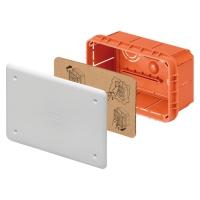 Rozbočovací a připojovací krabice pod omítku s víkem 196x152x70mm
