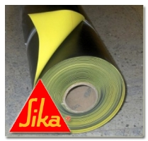 Hydroizolační fólie na bázi měkčeného PVC-P Sikaplan WP 1100-15HL tl. 1,5mm 2,2x20m,44m2/b