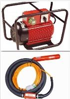 Vibrátor na beton vysokofrekvenční PERLES - měnič+ vibrátor půjčovna nářadí