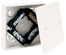 Lištová bezhalogenová krabice Kopos bílá