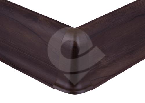 Cezar PREMIUM vnější roh, PVC, 59mm, hikory smoky, dekor 191