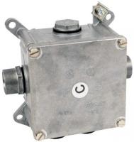 Kovová elektroinstalační krabice Kopos 96x96x69mm