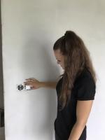 Osazení, instalace a zapojení termostatu s čidlem pro podlahové topení, cena práce za ks