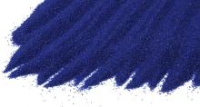 Křemičitý písek barevný modrý 0,4-0,8mm 25kg