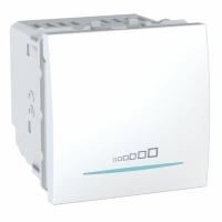 Multizátěžový stmívač Unica, 2 moduly, 20-350 W/VA bílý
