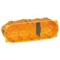 Elektroinstalační krabice Legrand BATIBOX, vestavná, suché příčky, 3x2 moduly, hloubka 40mm
