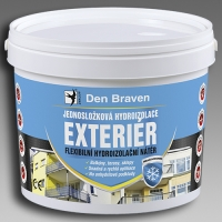 Jednosložková flexibilní hydroizolace Exteriér Den Braven 13kg